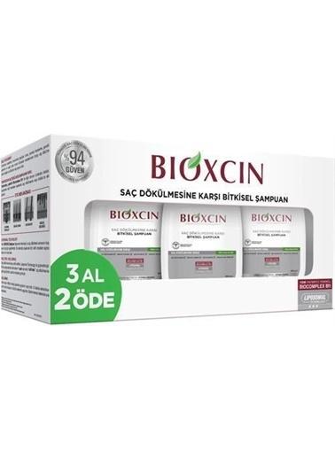 Bioxcin Bioxcin 3'Lü Paket Genesis Yağlı Saçlar Için Şampuan 300Ml Renksiz